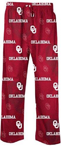 Concepts Sports Oklahoma Sooners Men's Crimson NCAA Keynote Pajama Pants (M=32-33)