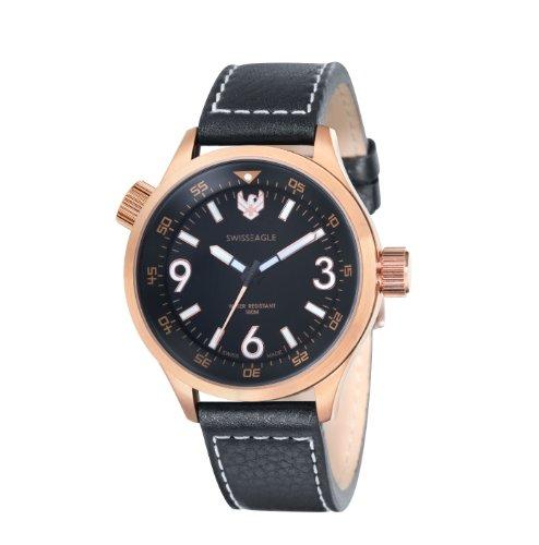 Swiss Eagle Men's SE 9030-05 Sergeant Rosegold Watch
