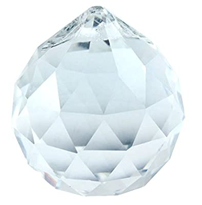 Femitu 50mm Chandeliers Clear Crystal Ball Prisms (2)