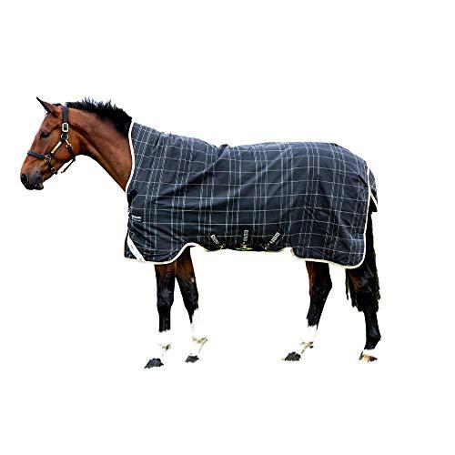 Horseware, Rhino Wug Turnout Medium Vari-Layer, Black/Grey/White Check & Safari, 84