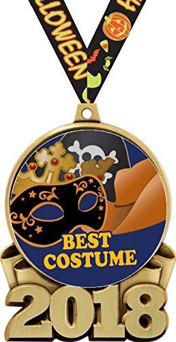 Halloween Costume Medals - 3