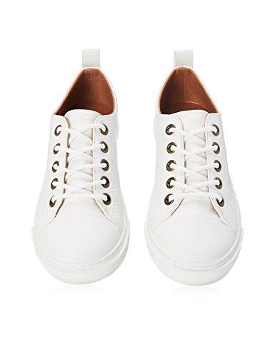 RED WAGON Zapatillas con Cordones Para Niños Blanco (White)