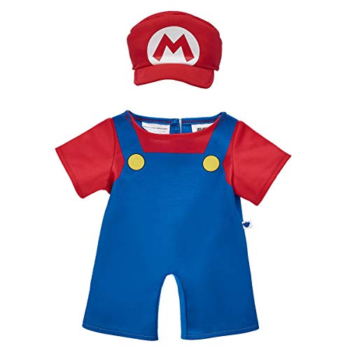 Build A Bear Workshop Mario Costume 2 pc. -