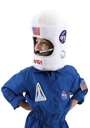 elope NASA Astronaut Costume Helmet, Plush for ()
