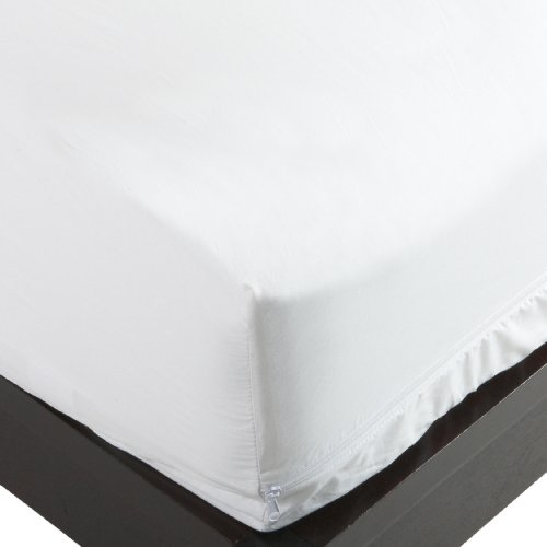 Allersoft 100-Percent Cotton Bed Bug, Dust Mite & Allergy Control Mattress Protector, Queen 9-inch