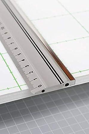 Aluminiumlineal 50cm ohne Stahlkante rutschfest