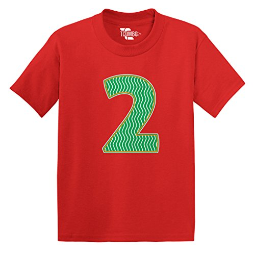 Number Red Tee - 2