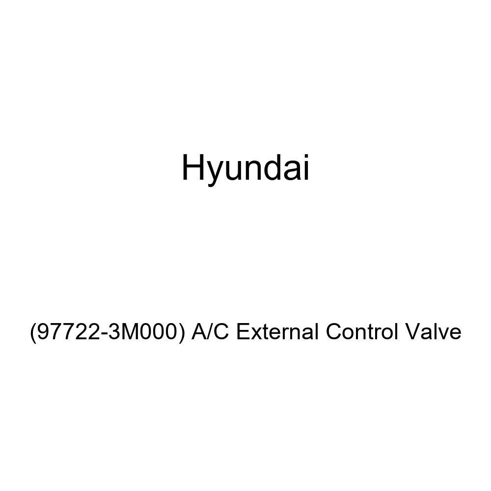 Genuine Hyundai 97722-3M000 A//C External Control Valve