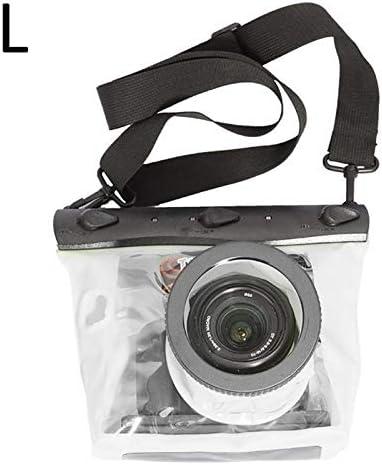 FSD—MJ Funda para cámara GQ-518L Bolsa Impermeable para Buceo Bolsa Seca Impermeable para cámara HD PVC SLR Caja de Carcasa Canon 600D 40D 60D 7D 5D, púrpura: Amazon.es: Deportes y aire libre