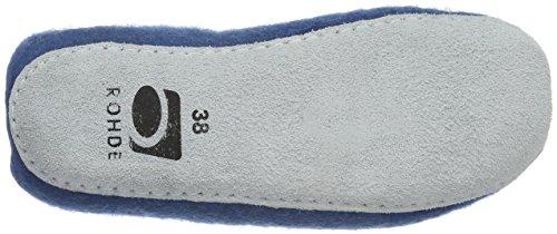 Blau 50 Sicilia Blue Lined Blau Warm Rohde Women's Slippers 8Sq7vxYw6