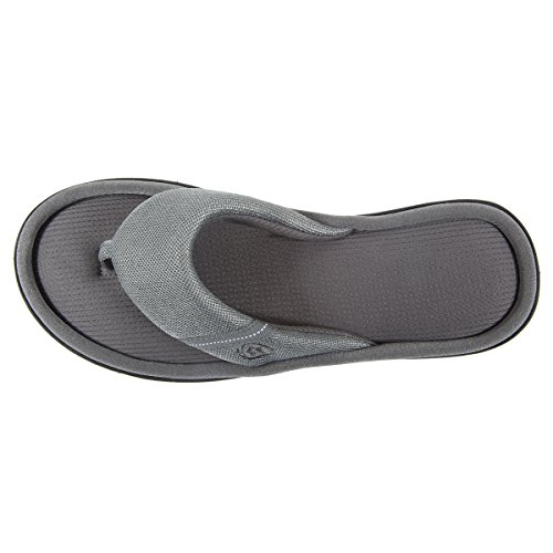 Zapatillas Chancla Mujer Isotoner Gris