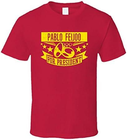 Pablo Feijoo para Presidente España Rugby T Shirt: Amazon.es: Ropa ...
