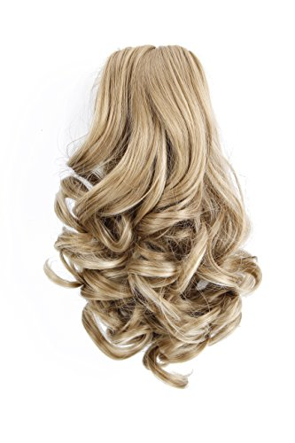 OneDor® 14 Inch Ponytail Hair Extensions Synthetic Jaw Claw Ponytail Hair-Piece (16H613) (Clip On Hair Pieces compare prices)