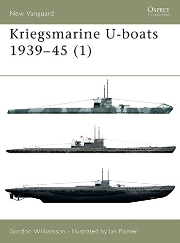 World War 1 German Submarines - Kriegsmarine U-boats 1939–45 (1) (New Vanguard) (v. 1)