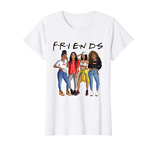 Afro Queens Black girls Friend T-shirt And Gift ()