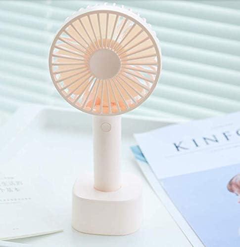 Ventilatore Elettrico Estivo, Ventola Rimovibile Lavabile, Mini Stilo Ricaricabile con Piccola Ventola Elettrica, WOZUIMEI