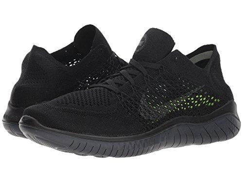 [NIKE(ナイキ)] メンズランニングシューズ?スニーカー?靴 Free RN Flyknit Black/Anthracite 7.5 (25.5cm) D - Medium