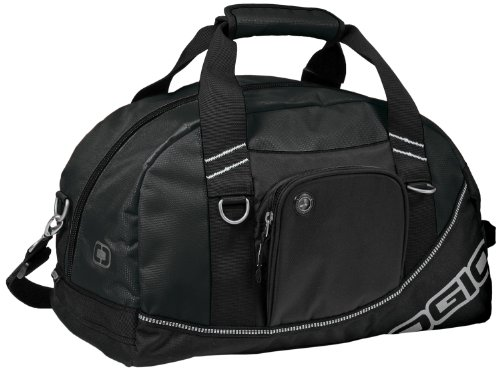 Half Dome Duffel Bag, Black 711007