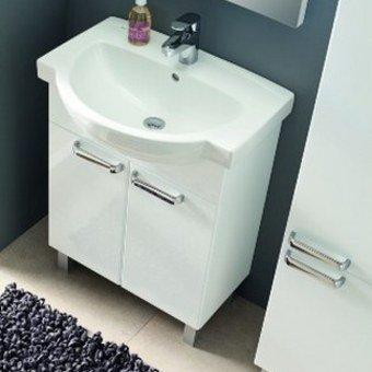 Waschbecken Gäste Wc Wb-unterschrank Waschtisch Badmöbel Hochglanz ... Badezimmerschrank Waschbecken