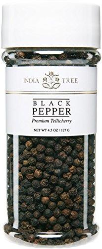India Tree Pepper, Tellicherry, 4.5 oz (Pack of 3) (Tellicherry India Pepper Tree)