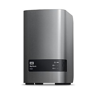 WD 12TB My Book Duo Desktop RAID External Hard Drive - USB 3.0 - WDBLWE0120JCH-NESN by Western Digital