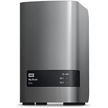 WD 12TB My Book Duo Desktop RAID External Hard Drive - USB 3.0 - WDBLWE0120JCH-NESN