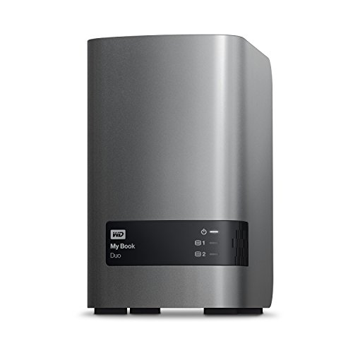 WD 16TB My Book Duo Desktop RAID External Hard Drive - USB 3.0 - WDBLWE0160JCH-NESN by Western Digital