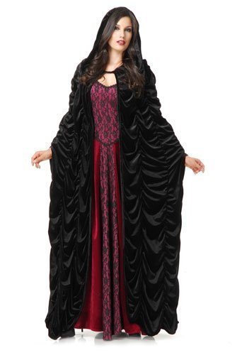 Black Coffin Cape by Charades