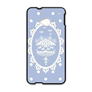 snow cute lovely personalized high quality cell phone case for HTC M7