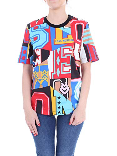 Mujer W 4 M Camiseta 42 4009 Fantasy 00 Love F15 Moschino H7qfpf