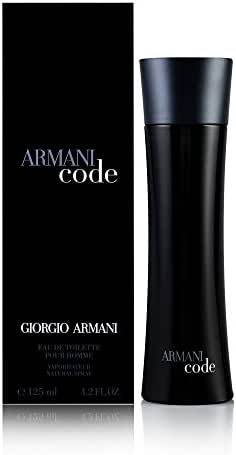 Armani Code By Giorgio Armani For Men. Eau De Toilette Spray 4.2 Oz.