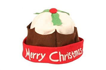 856be959dc9cc Image Unavailable. Image not available for. Colour  Adult Christmas Pudding  Hat