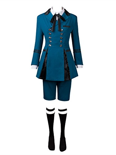 Cosfun Black Butler 2 Ciel Phantomhive BEST Outfits Cosplay Costume mp003218 (US-XL)