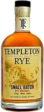 Templeton Rye Whiskey Small Batch 80@ 750ML