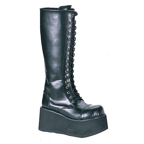 TRASHVILLE-502 Black Pu-Size 13M