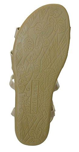 David Tate Kvinna Farah Sandaler Sand Antik