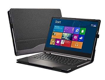 Honeymoon Compatible for Lenovo Yoga C930 / Yoga 920 / Yoga 910 /Yoga 900 13.9 Inch Case, PU Leather Folio Stand Protective Cover for Lenovo Yoga 7 ...