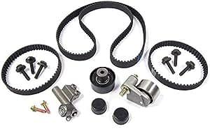 amazon com land rover timing belt and tensioner kit for freelander timing belt replacement mitsubishi timing belt