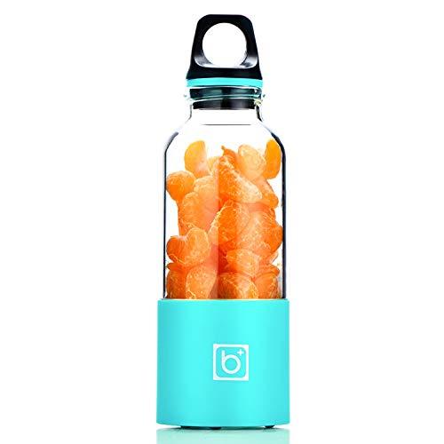 500Ml Portable Usb Rechargeable Blender Electric Juicer Cup Vegetables Fruit Juice Maker Bottle Juice Extractor Blender Mixer,Blue