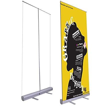 """33 """"X 79"""" Economía enrollable retráctil Banner Stand"""