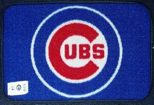 FANMATS 7439 Chicago Cubs Rookie Mat (18