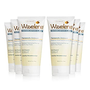 Image of Waxelene Organic Soothing Botanical Jelly, Petroleum Free Ointment, 5 Ounces, Pack of 6 Health and Household