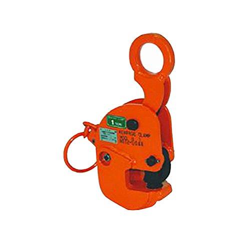日本クランプ 横吊り専用クランプ Hタイプ ラッチ式ロック装置付 軽量 小型 H3 使用荷重 3t 使用有効寸法 5~45mm コT【代不】 B06VW22HWL