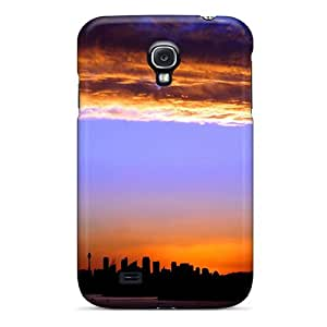 High-quality Durable Protection Case For Galaxy S4(city Sunset)
