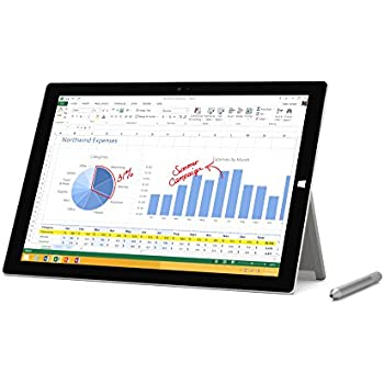 Amazon com : Microsoft Surface Pro 3 512 GB, Intel Core i7
