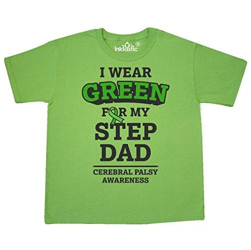 inktastic Wear Green For My Step Youth T-Shirt Youth Small (6-8) Kiwi 2eebb