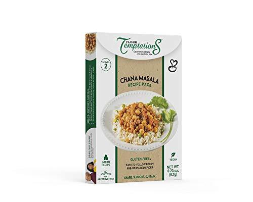 Chana Masala Indian Food Spice Sets (2 pack) - Vegan, Gluten-Free, Salt-Free, Organic Spices and Garam Masala Powder for Indian Cooking