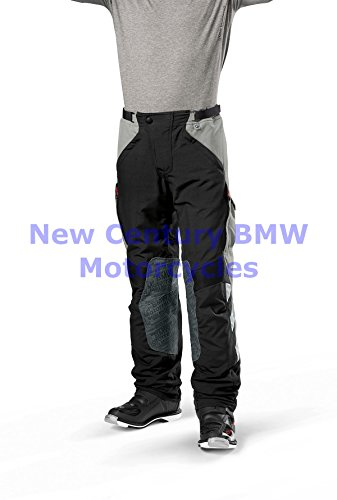 (BMW Genuine Motorcycle Men Rallye Riding Pants Black/Red US 42 Euro 52)