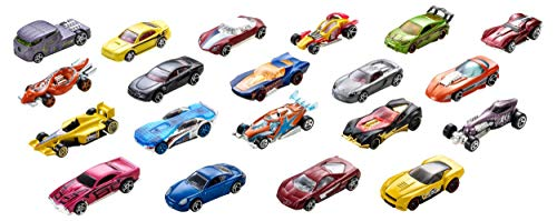 Small Toy Cars (Hot Wheels 20 Car Gift Pack (Styles May)