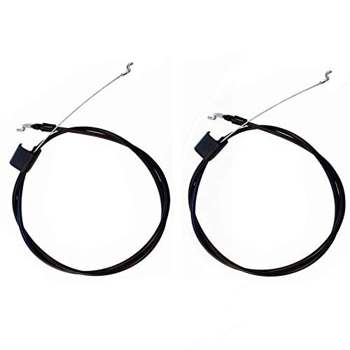 Wadoy 532176556 176556 Control Cable Compatible with Craftsman,162778 Engine Brake Zone Control Cable (Pack of 2)